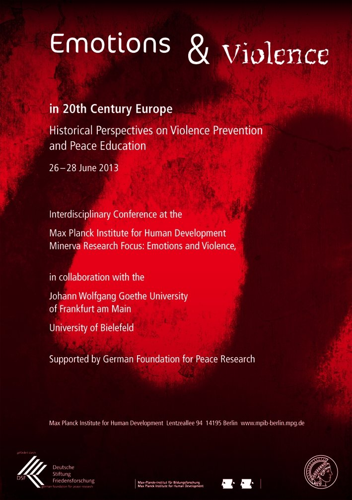 Emotions and Violence in 20th Century Europe<br />26.-28. Juni 2013