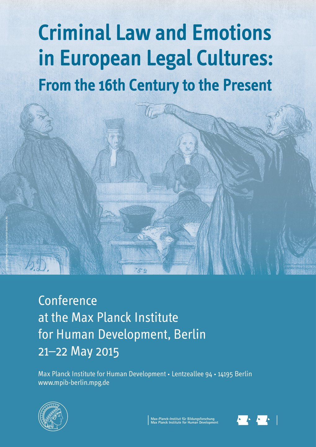 Criminal Law and Emotions in European Legal Cultures: From the 16th Century to the Present<br />21.-22. Mai 2015