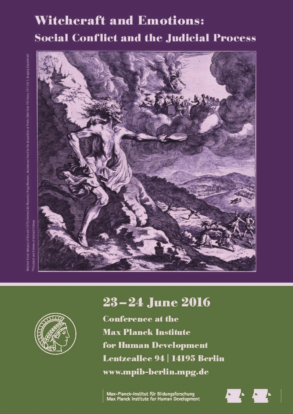 Witchcraft and Emotions: Social Conflict and the Judical Process<br />23.-24. Juni 2016